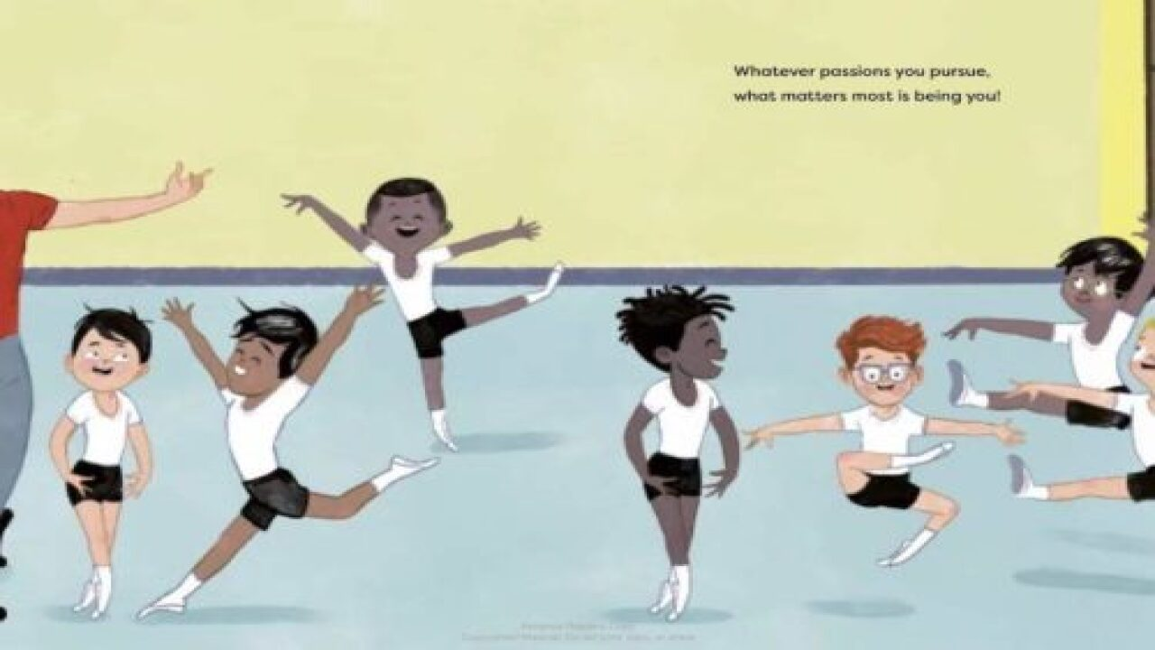 New Children's Book Celebrates Boys Who Love To Dance