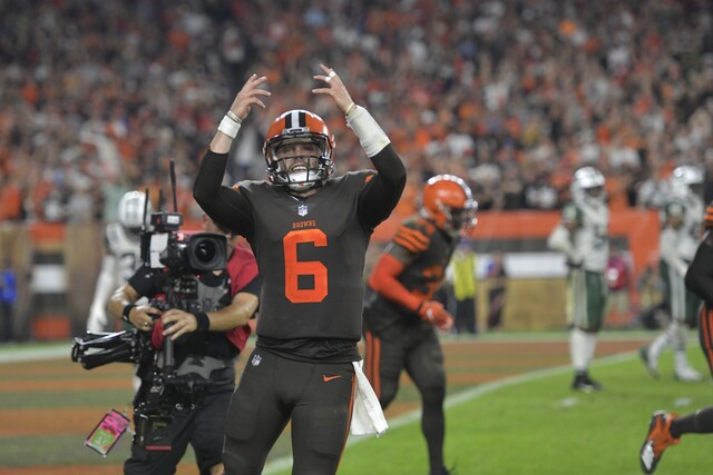 PHOTOS: Baker Mayfield leads Browns to first victory since 2016