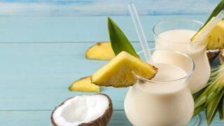 Boozy Dole Whip Cocktails Will Make Your Backyard Feel Like A Tropical Island