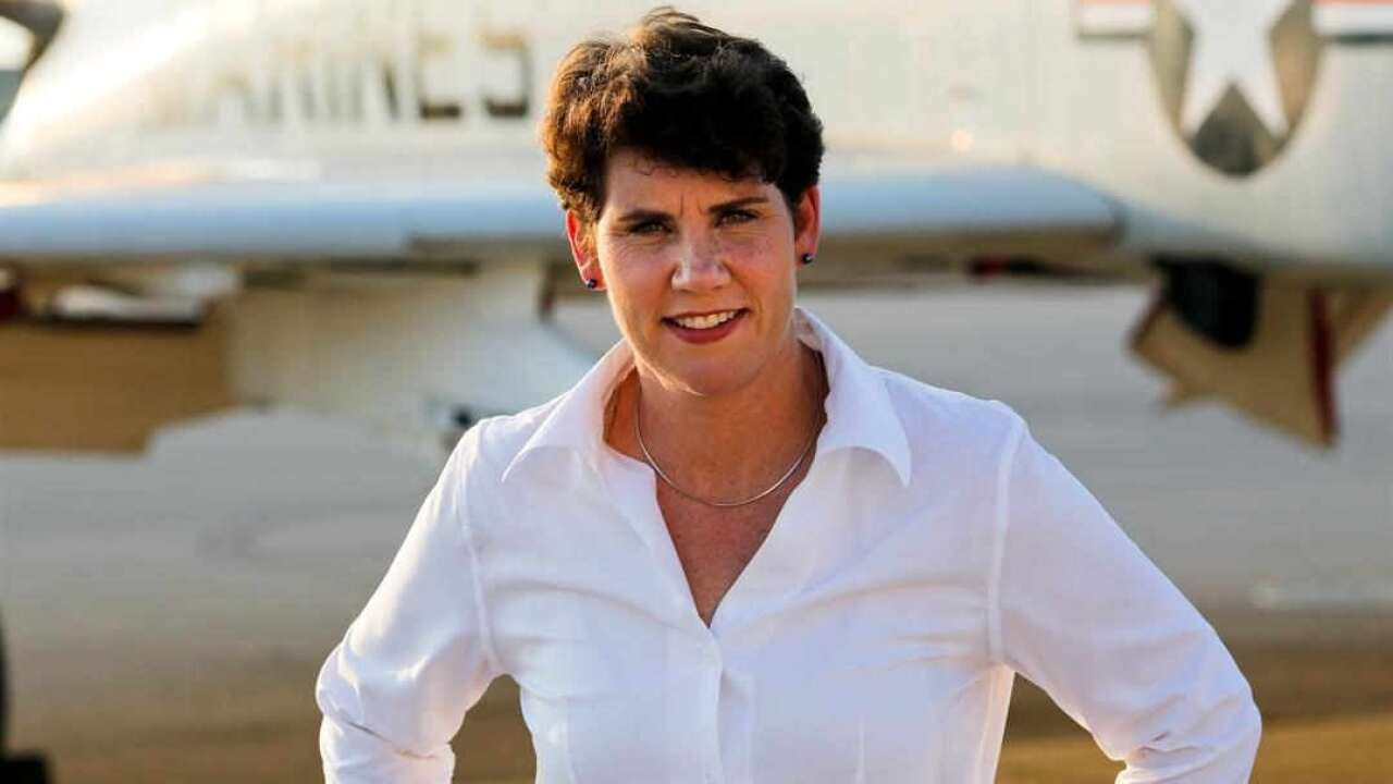 Amy McGrath Says She Wants To 'Cut Through' Political Discord