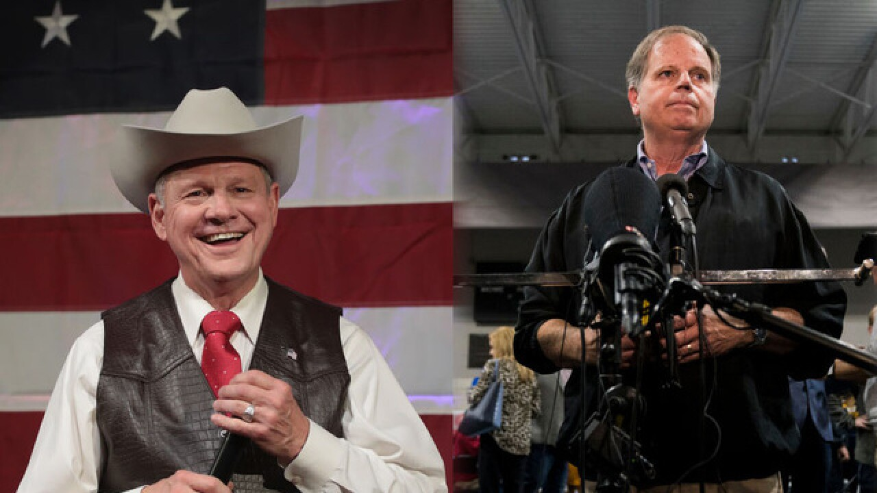 Democrat Doug Jones defeats Roy Moore in tight US Senate race in Alabama