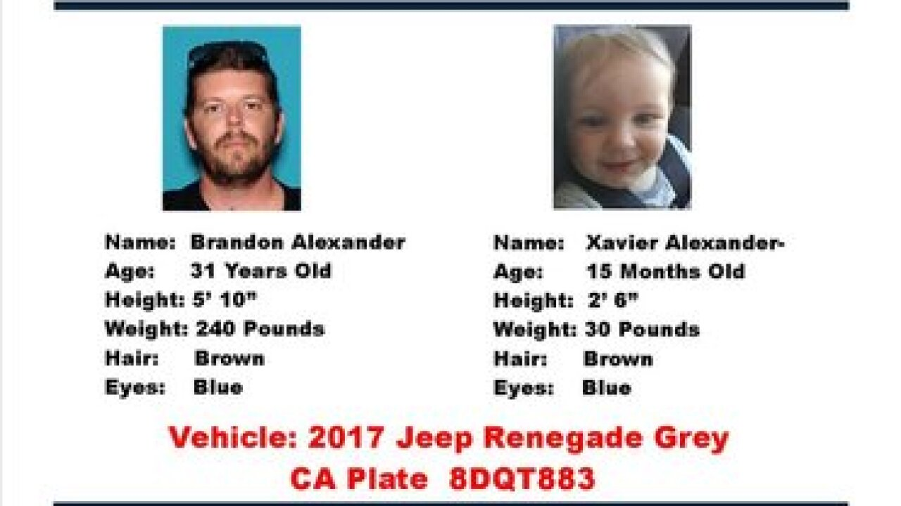 Suspect in custody from California Amber Alert