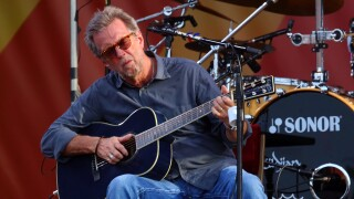 Eric Clapton performs in New Orleans in 2014
