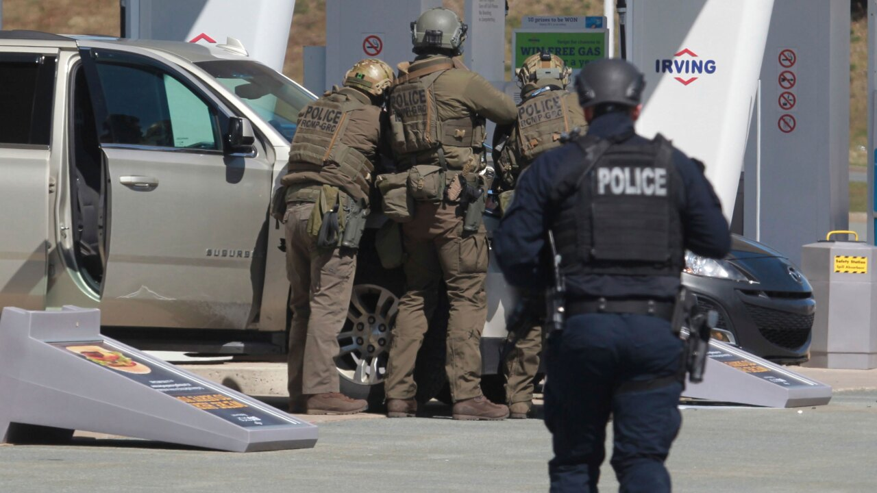 A gunman in Nova Scotia evaded police for nearly 12 hours after killing at least 16 in one of Canada's deadliest mass shootings