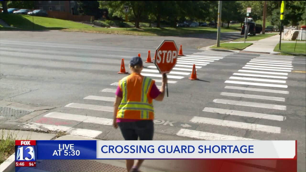 Statewide crossing guard shortage lingering as kids head back to school
