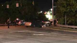 Fatal crash U.S. 50 and Kibby Lane