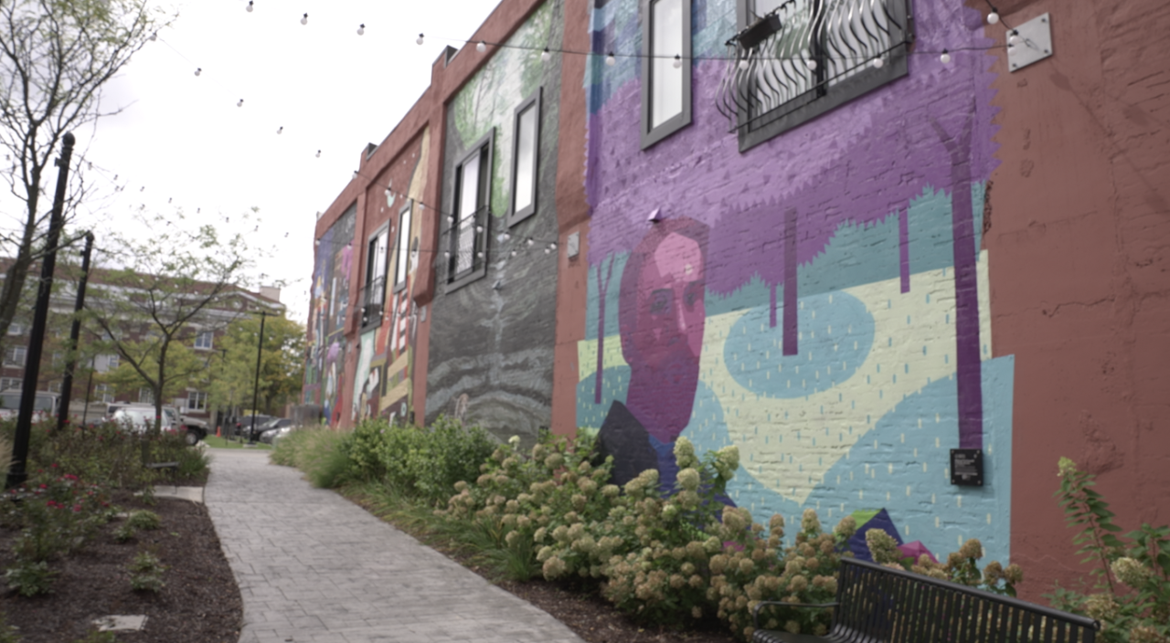 Bright Walls mural