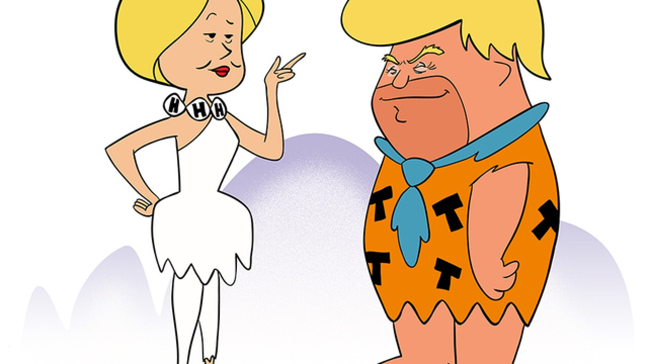 COLUMN: Why Trump reminds me of Fred Flintstone