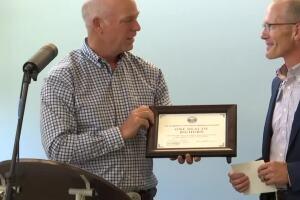 Gianforte donates portion of governor's salary to Hardin healthcare facility