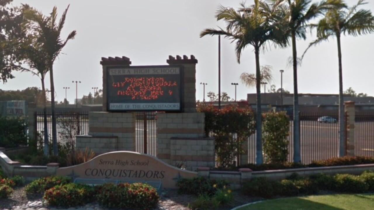 Rancho Bernardo High School Campus Map.Juvenile Arrested Following Reported Threat To Serra High School