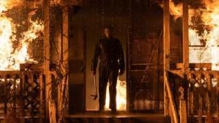 "Michael Myers in ""Halloween Kills."" Courtesy Universal Studios."