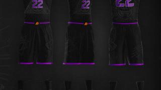 Phoenix Suns Aztec Uniform Concept Design