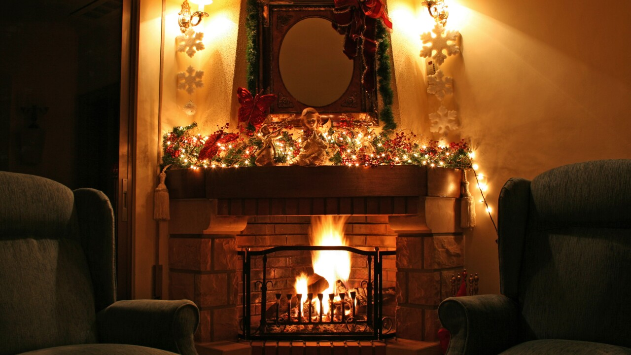 christmas fireplace by Issa Gm.jpg