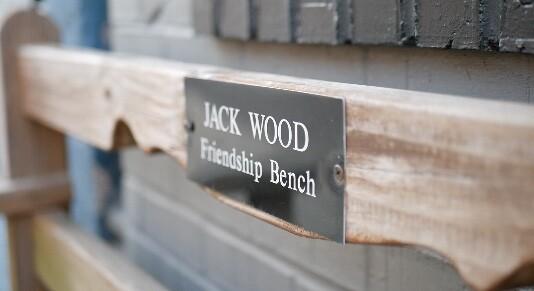 Jack Wood Friendship Bench