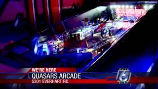 Quasars Arcade provides old-school pinball fun