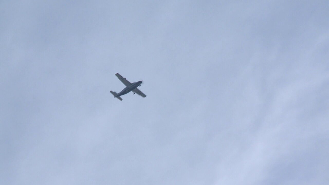 Why EPA was flying plane over Richmond
