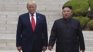 Trump claims Kim Jong Un is 'in good health'