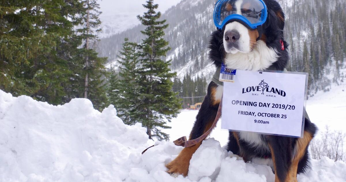 Loveland Ski Area will open Friday for the 2019-20 season, the third ski area open in Colorado