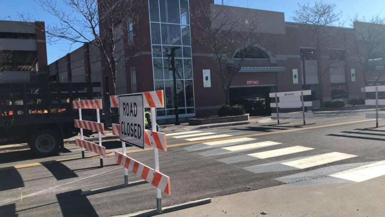 Olathe 3D crosswalk