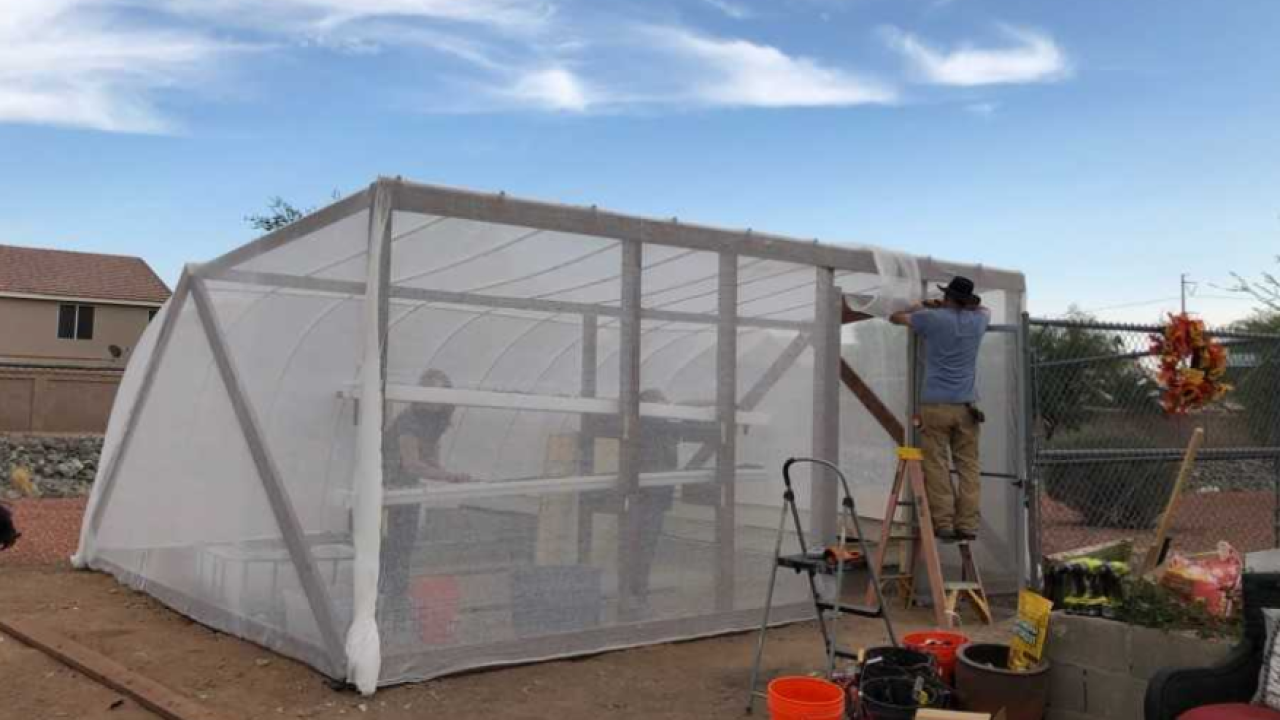 Valley middle school gets new greenhouse
