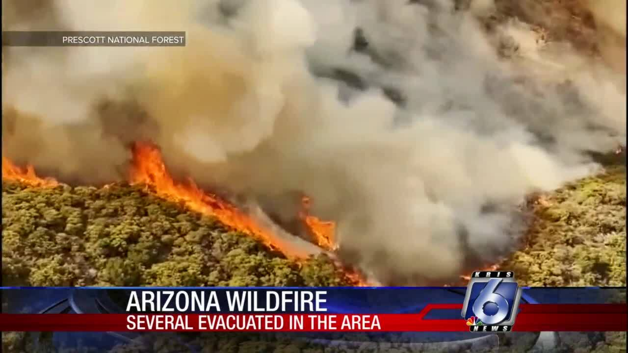 Several small Arizona towns endangered by 'Horse Fire'