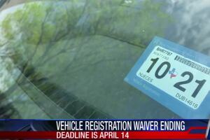 Delinquent car registration must be updated this week