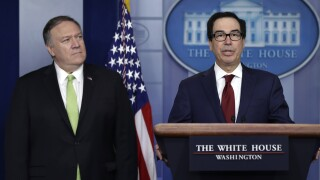 U.S. announces new sanctions on Iran after missile strikes