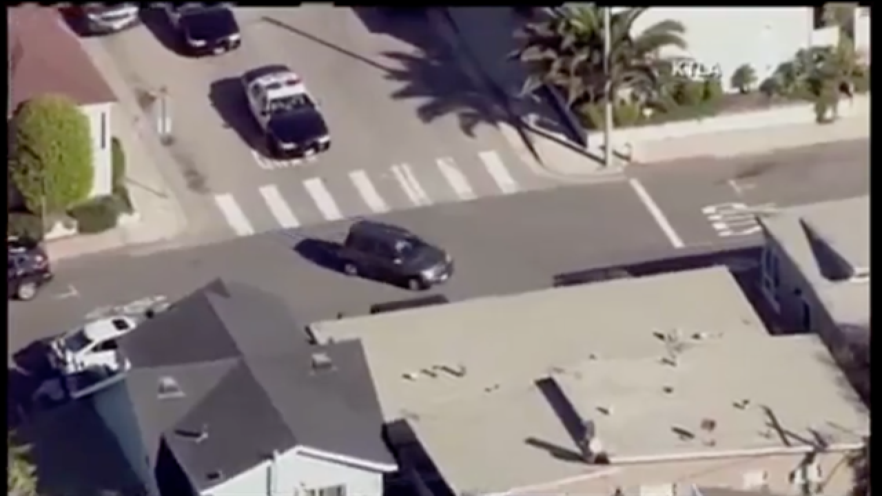 LIVE: Carjacking suspect leads police on a chase through Los