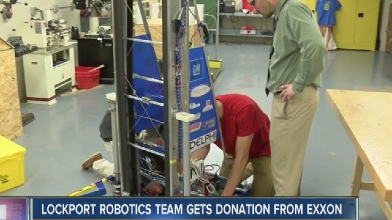 LHS robotics team gets boost from Exxon & Yahoo