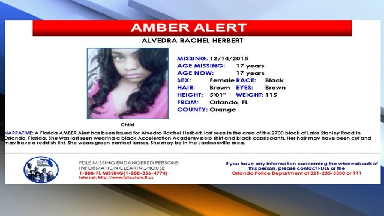 Missing Orlando teen found safe