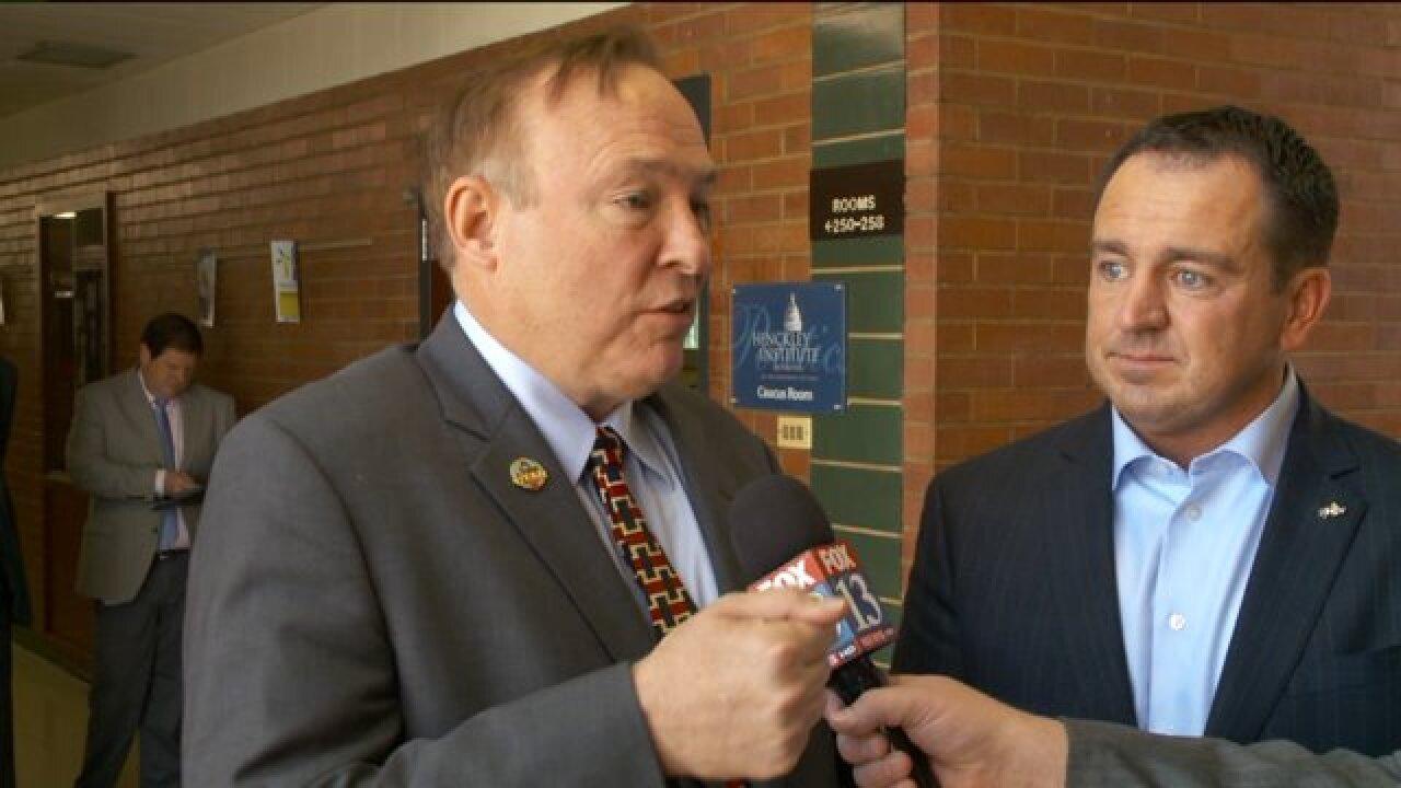 Sen. Jim Dabakis, House Speaker Greg Hughes discuss 2015 legislativesession
