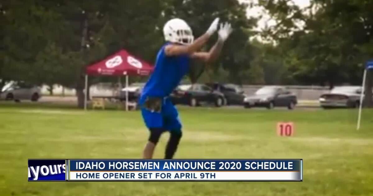 Idaho Horsemen release 2020 schedule