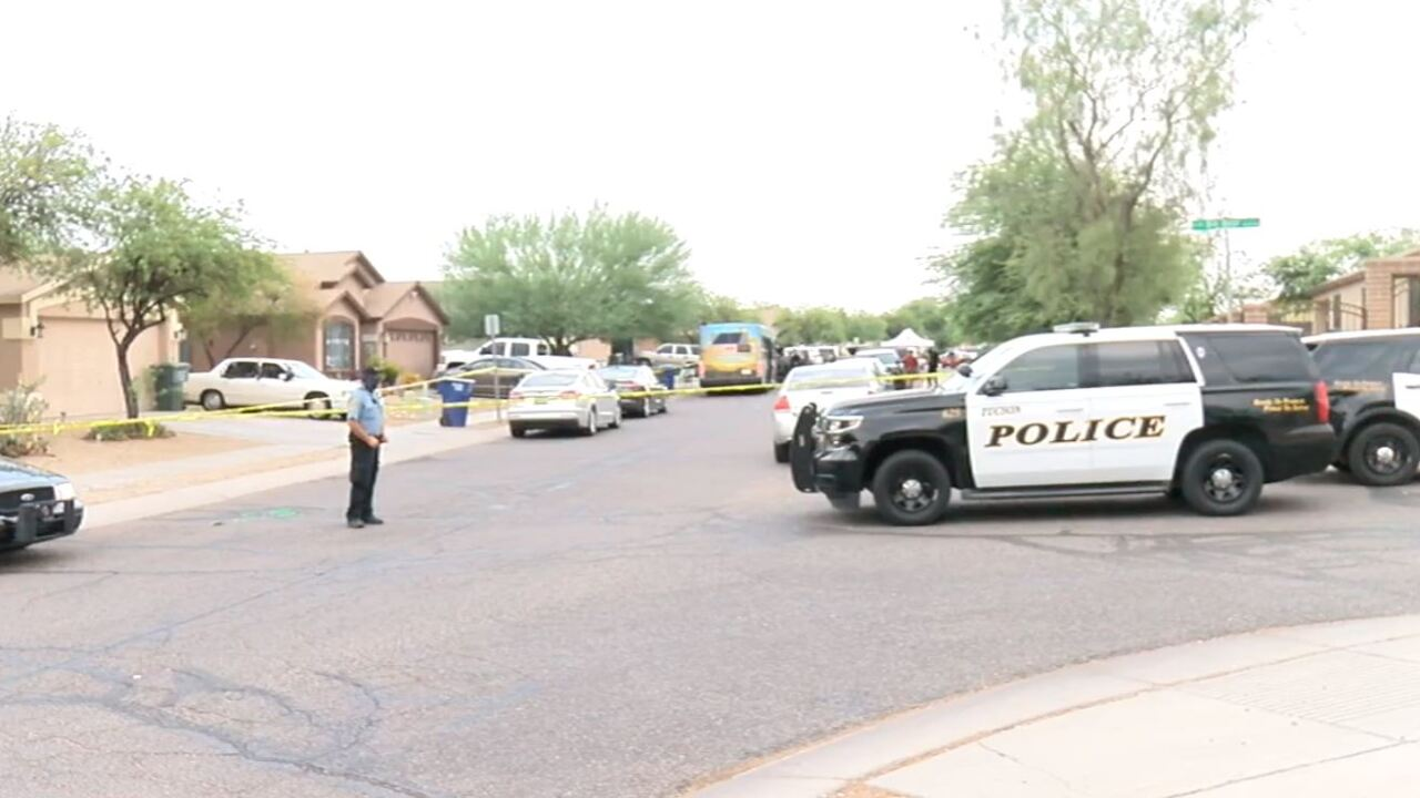 Police shot and killed a 17-year-old suspected of armed robbery on Tucson's south side Wednesday afternoon.