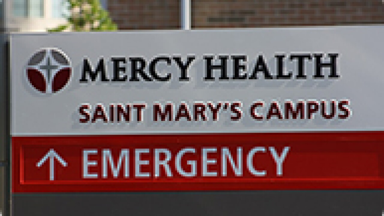 Infant found left outside Saint Mary's Hospital; motherfound