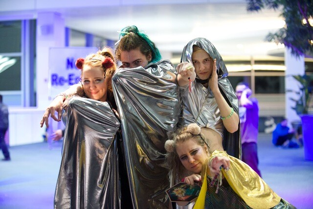 More craziness from Decadence fans that filled up the Convention Center
