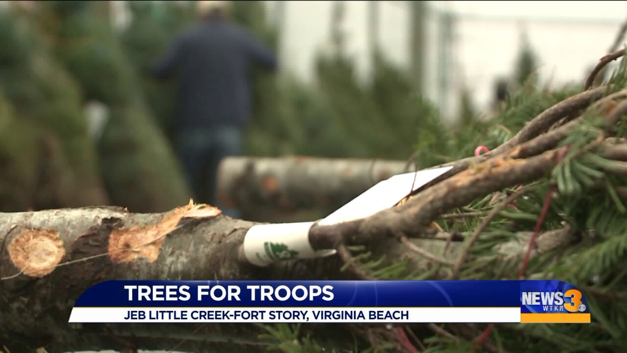 Program provides free Christmas trees to local militaryfamilies