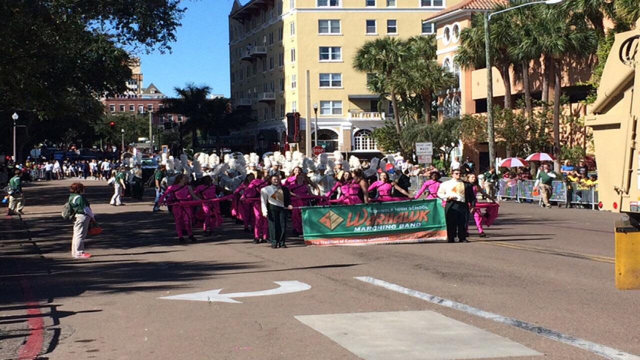 St. Pete's annual Dr. Martin Luther King parade