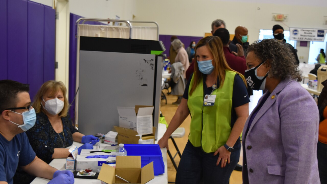 Chesapeake Regional Healthcare vaccinates high-risk community members (January 30)
