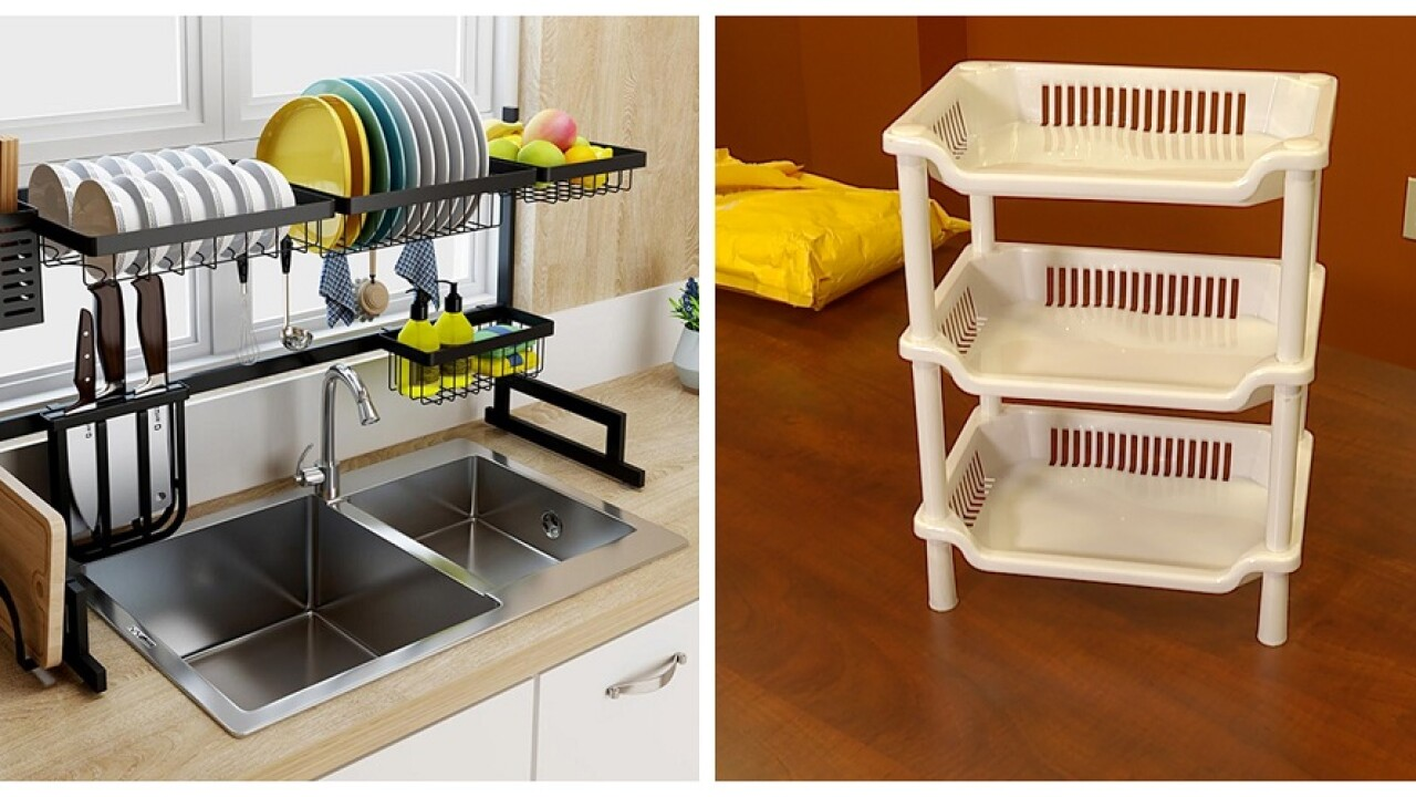 Man ordered 'state-of-the-art' dish rack for his mom, but instead received flimsy plastic trays