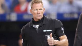 Umpire Jim Wolf to miss rest of Indians-Tigers series