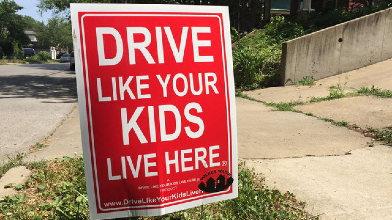 Neighborhood gets creative to stop speeding
