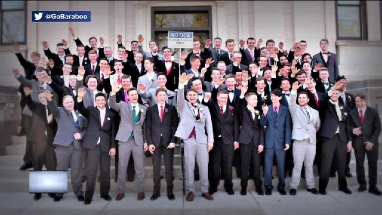 Photographer: Wisconsin boys' alleged Nazi salute photo was innocent