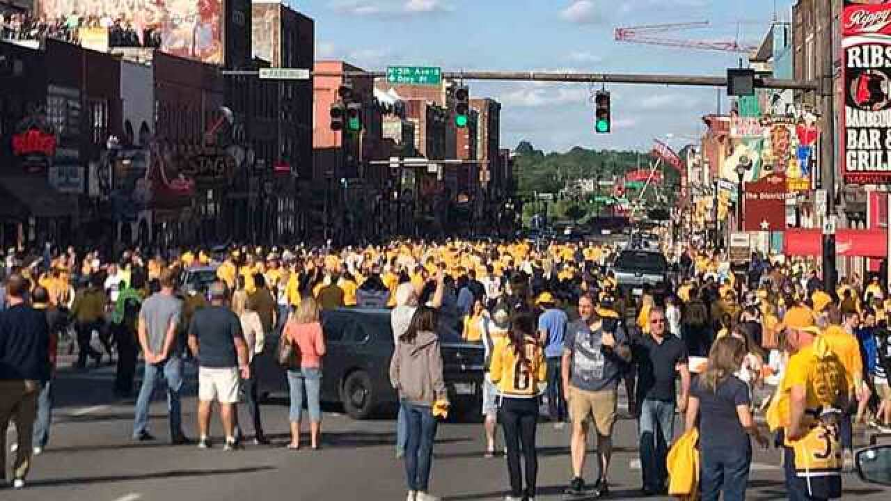 Fans Electrified After Historic Preds Win