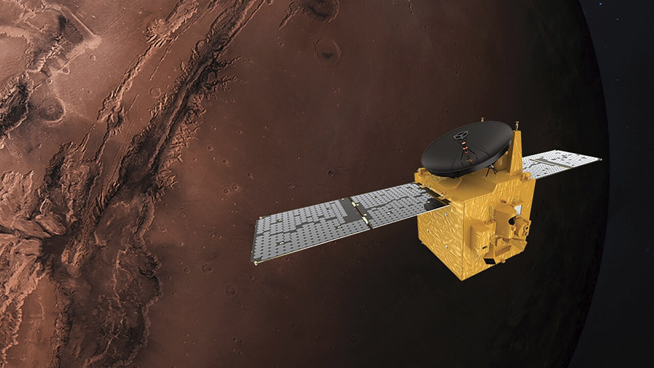 Arab spacecraft enters Mars orbit