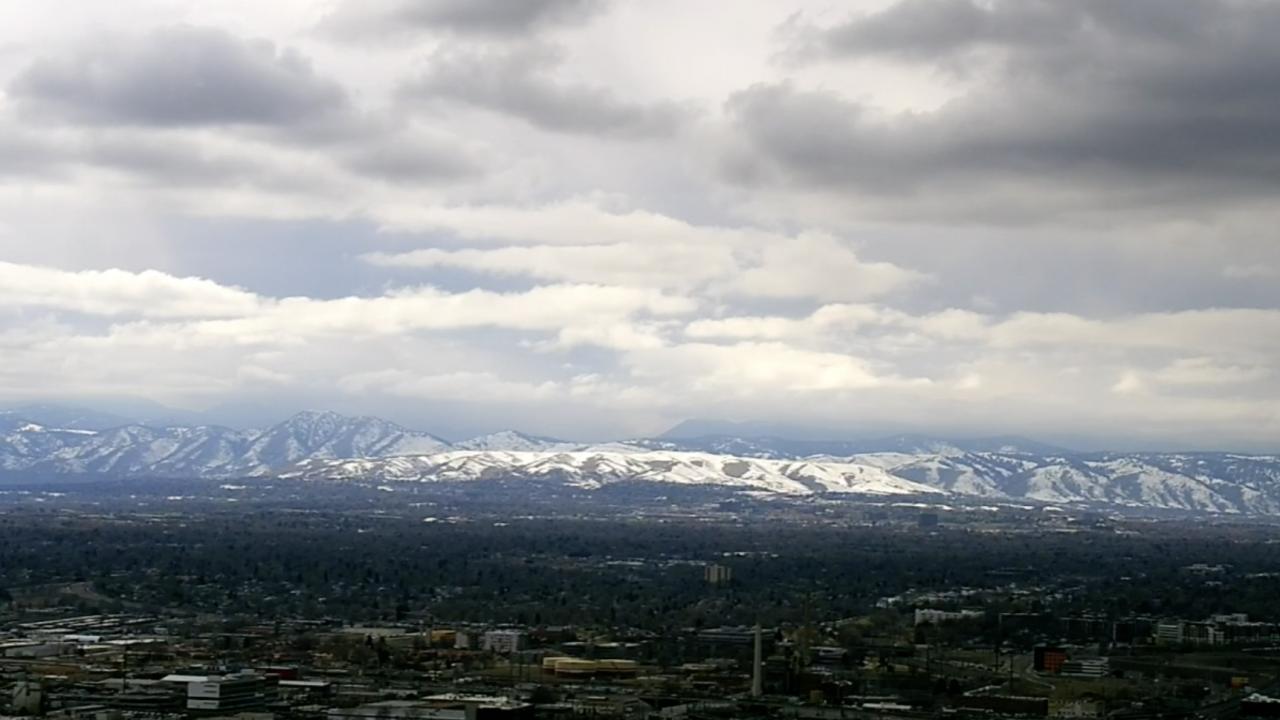 Denver mountains snow