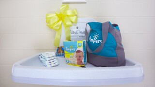 Pampers Changing Station