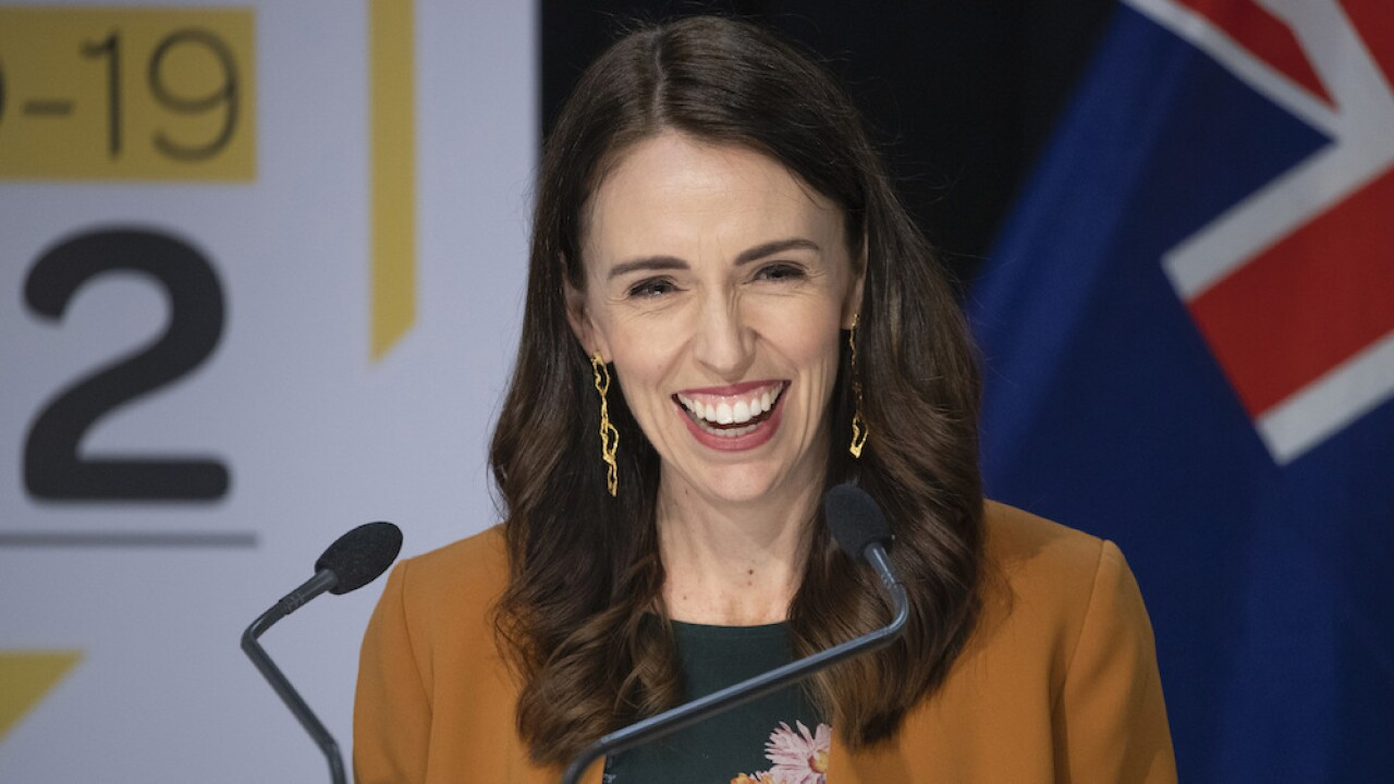 New Zealand PM responds to Trump over coronavirus 'spike'