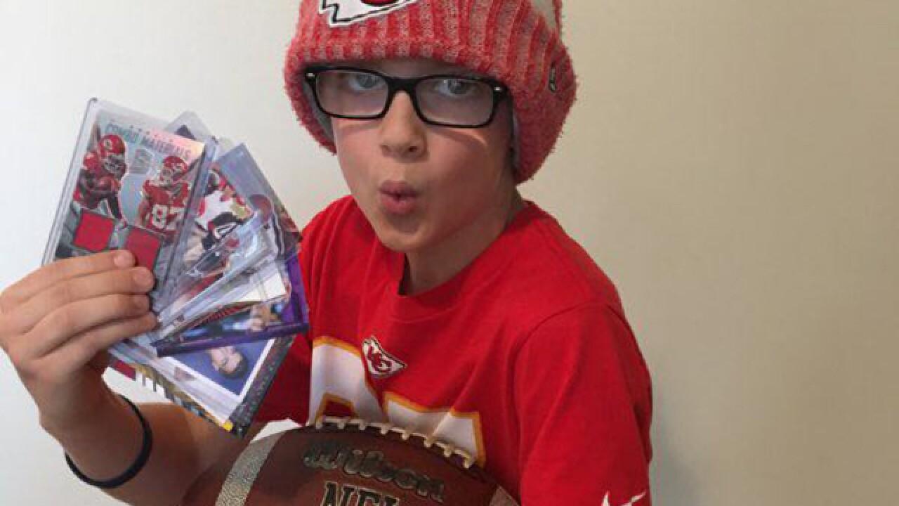 Viral: 10-year-old gets to meet Travis Kelce