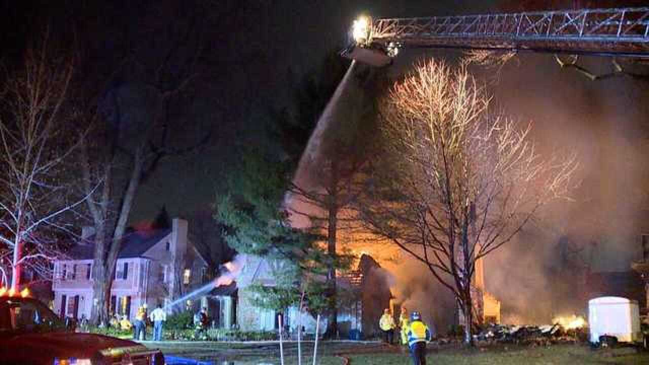 Three homes damaged in Grosse Pointe fire