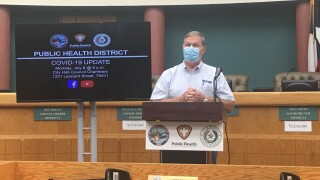 WATCH LIVE: Local officials update on the pandemic